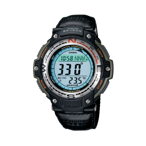 Casio Twin Sensor Chronograph Digital Watch - Men