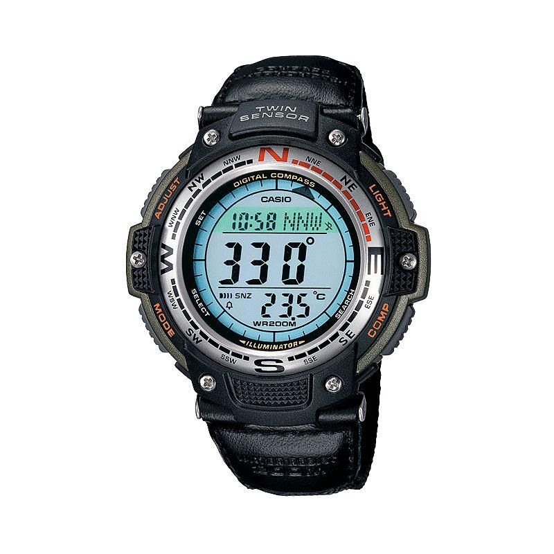 Casio Men's Twin Sensor Digital Chronograph Watch - SGW100B-3V