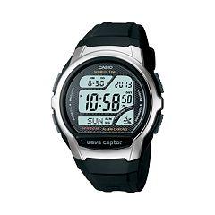 Casio Men's Wave Ceptor Atomic Digital Chronograph Watch WV58A-1AV