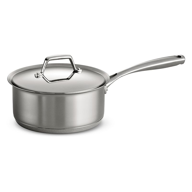 Tramontina Prima 3-qt. Stainless Steel Tri-Ply Covered Saucepan