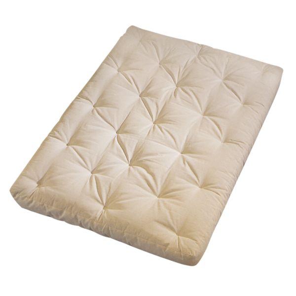 Serta Cypress Duct Beige Futon Mattress - Full
