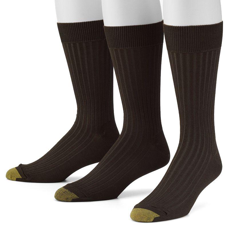 Men's GOLDTOE 3-pk. Canterbury Dress Socks