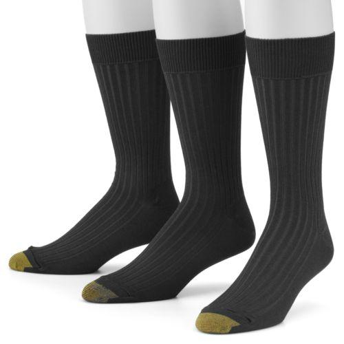 GOLDTOE 3-pk. Canterbury Dress Socks