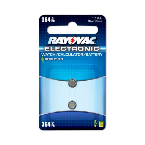 Rayovac 2-pk. 364 Button-Cell Silver Oxide Watch Batteries