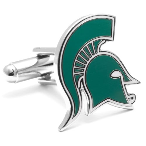 Michigan State Spartans Cuff Links