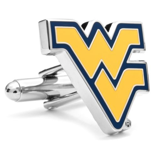 West Virginia Mountaineers Cuff Links