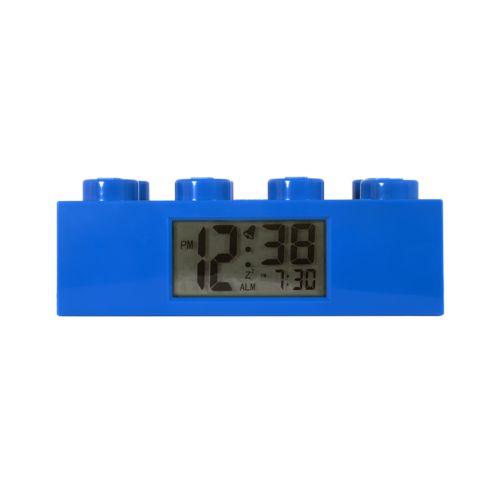 LEGO Blue Brick Alarm Clock