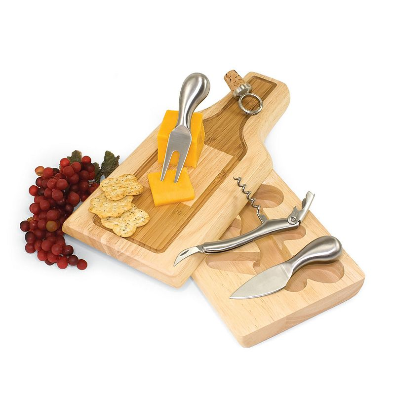 Picnic Time Silhouette 5-pc. Cheeseboard Set
