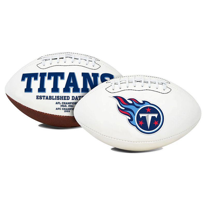 Rawlings Tennessee Titans Signature Football