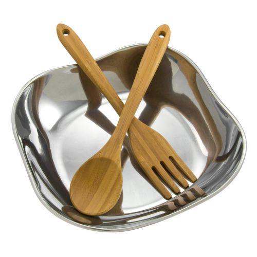 Wilton Armetale Boston 3-pc. Salad Bowl Set