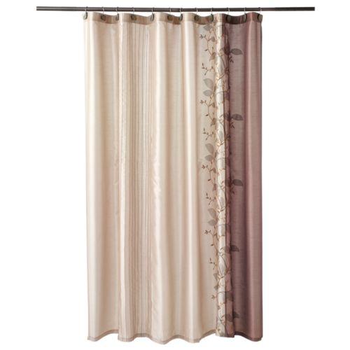 Chapel Hill by Croscill Landon Leaf Fabric Shower Curtain