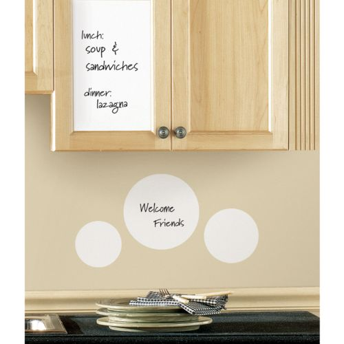 dry erase sheet wall sticker