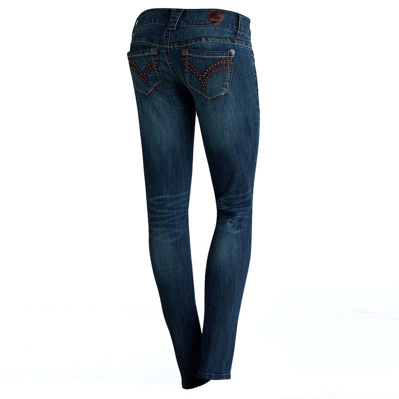 Rewind Crinkled Skinny Jeans