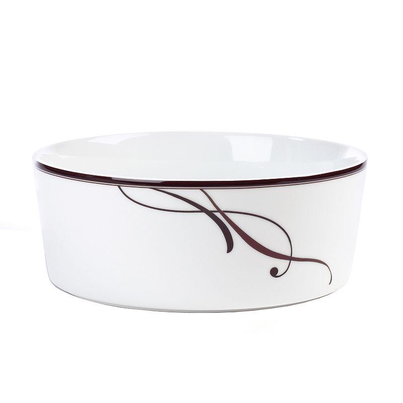 Mikasa Cocoa Blossom Vegetable Bowl