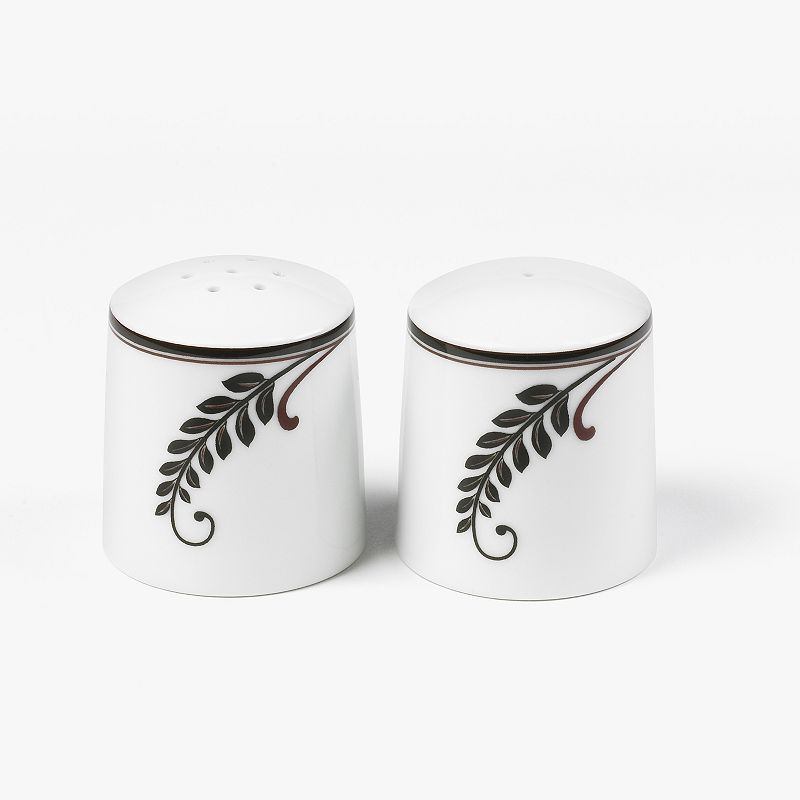 Mikasa Cocoa Blossom Salt and Pepper Shaker Set