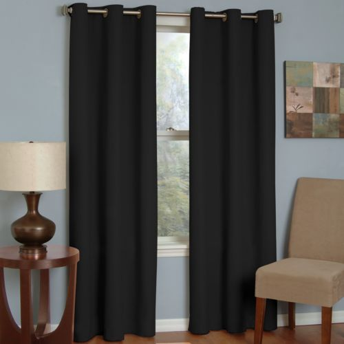 eclipse Microfiber Thermaback Blackout Curtain - 42'' x 84''