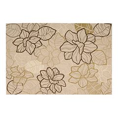 Fantasy Floral Rug 3'6'' x 5'6'' by