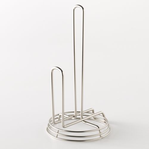 Food Network™ Silver Finish Paper Towel Holder