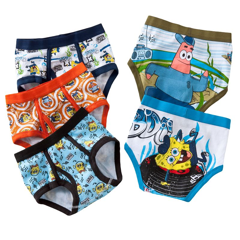 Boys 8-20 SpongeBob SquarePants 5-pk. Briefs