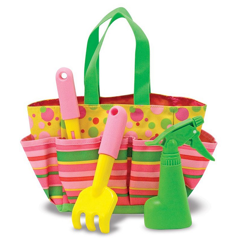 Melissa and Doug Sunny Patch 4-pc. Blossom Bright Tote Set