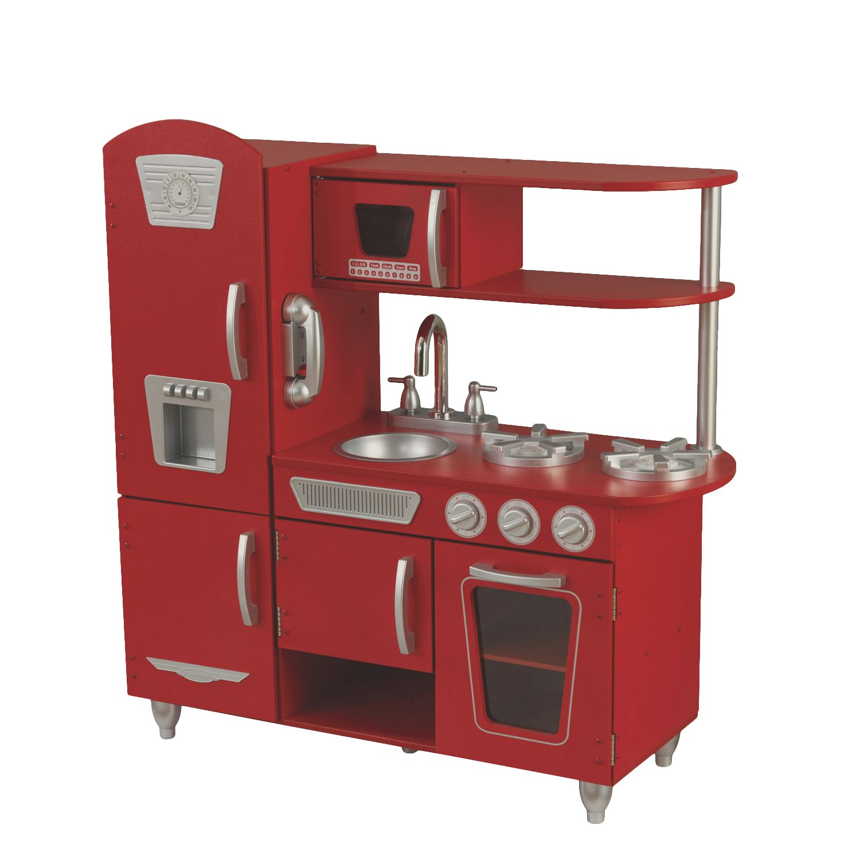 28 Kidkraft Kitchen Retro Red Activities Gear Playstations