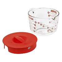Pyrex Grip-Rite 8-Cup Covered Measuring Cup