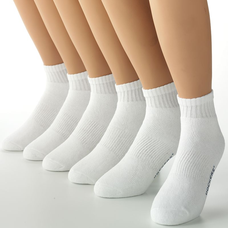 Men's Dockers® 6-pk. Athletic 1/4-Crew Socks