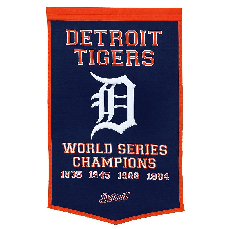 Detroit Tigers Dynasty Banner