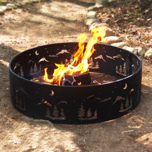 Wilderness Steel Fire Ring - Outdoor