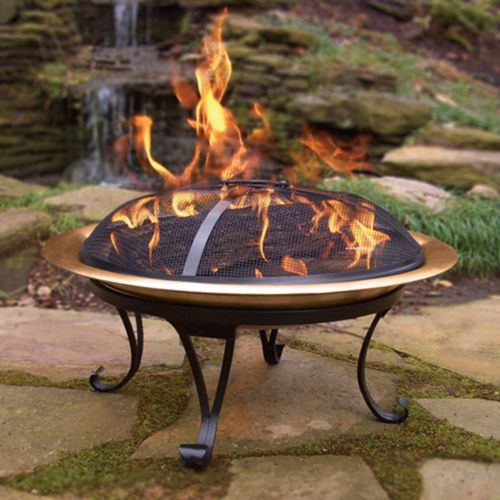 Copper Hide Away Fire Pit - Outdoor
