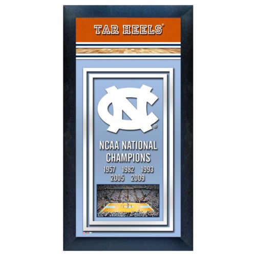 North Carolina Tar Heels NCAA National Champions Framed Wall Art