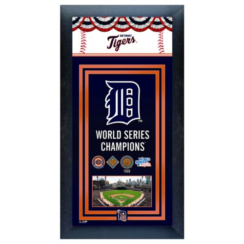 Detroit Tigers World Series Champions Framed Wall Art