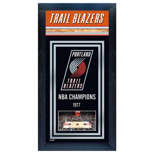 Portland Trail Blazers NBA Champions Framed Wall Art