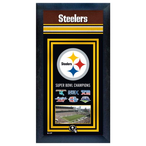 Pittsburgh Steelers Super Bowl Champions Framed Wall Art