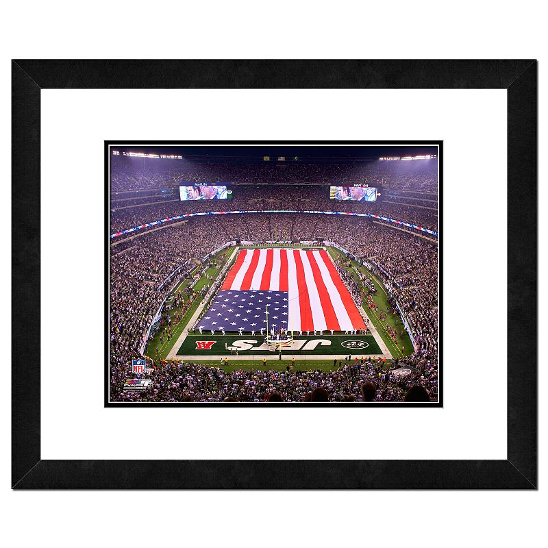 New York Jets MetLife Stadium Framed Wall Art