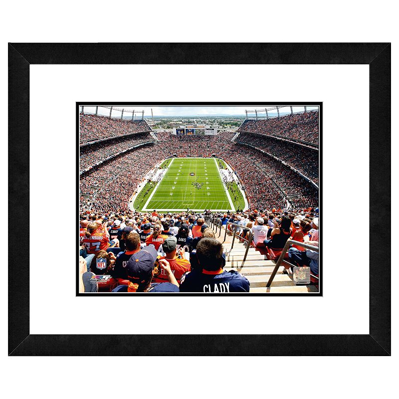 Denver Broncos Invesco Field Framed Wall Art