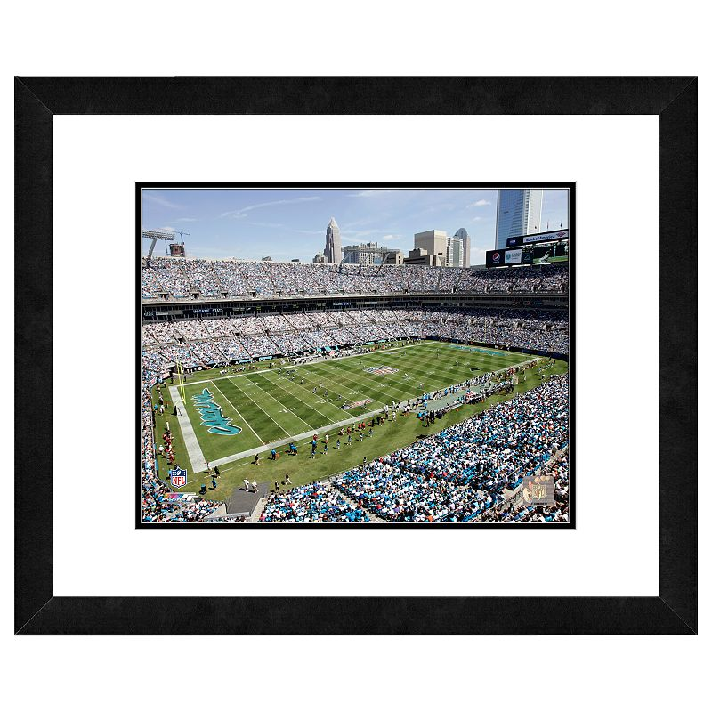 Carolina Panthers Bank of America Stadium Framed Wall Art