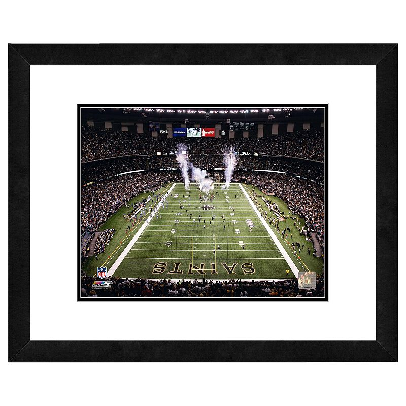 New Orleans Saints Louisiana Superdome Framed Wall Art