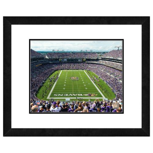 Baltimore Ravens M and T Bank Stadium Framed Wall Art