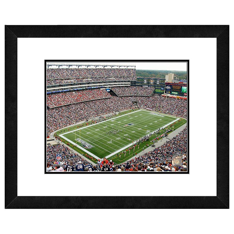 New England Patriots Gillette Stadium Framed Wall Art