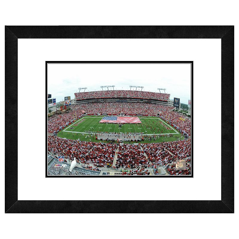 Tampa Bay Buccaneers Raymond James Stadium Framed Wall Art