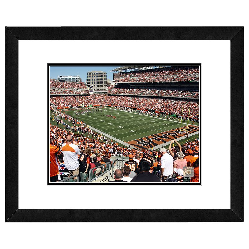 Cincinnati Bengals Paul Brown Stadium Framed Wall Art