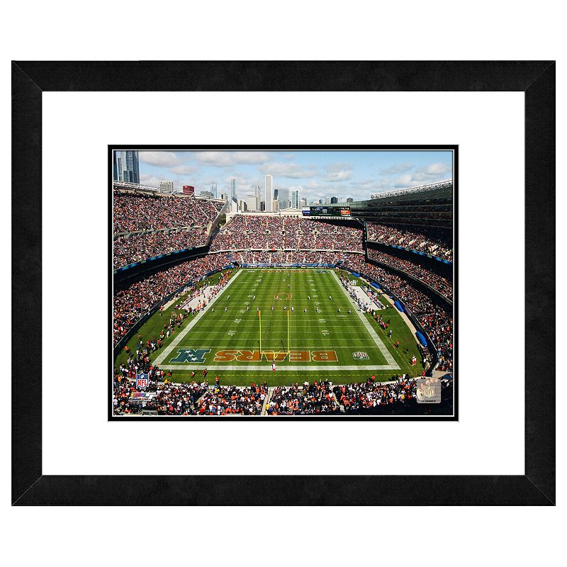 Chicago Bears Soldier Field Framed Wall Art