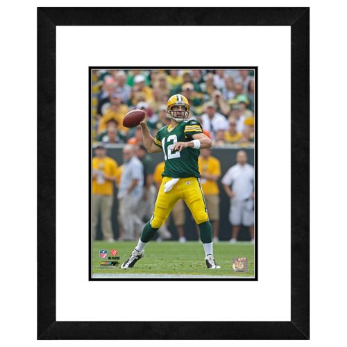 Green Bay Packers Aaron Rodgers Framed Wall Art