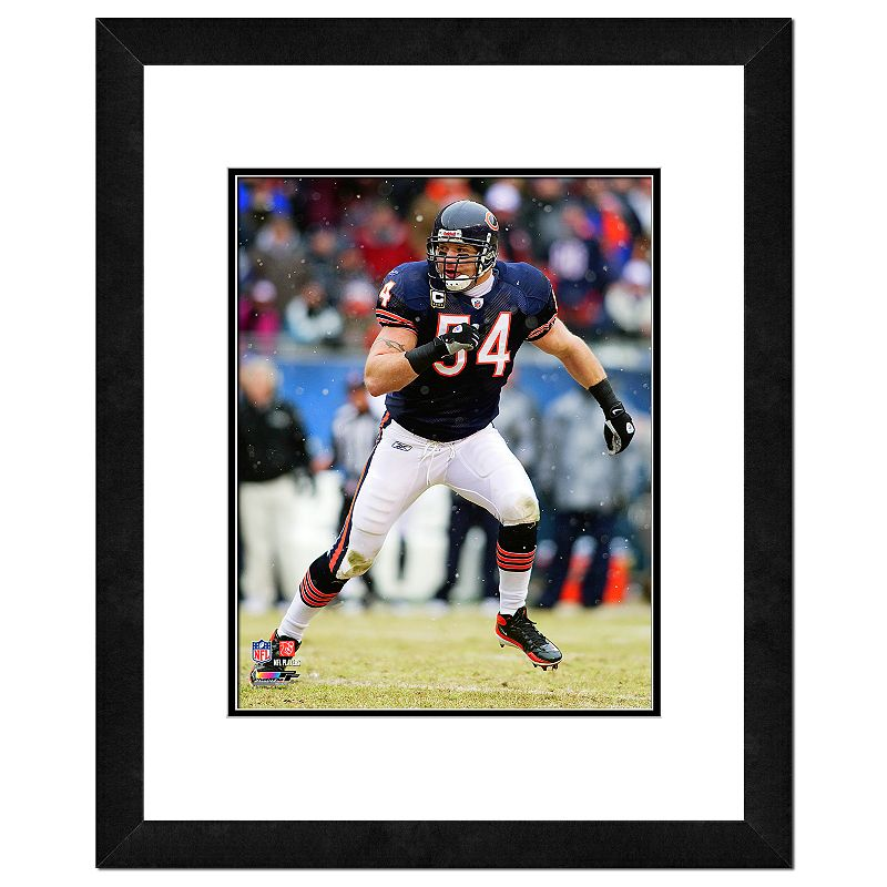 Chicago Bears Brian Urlacher Framed Wall Art