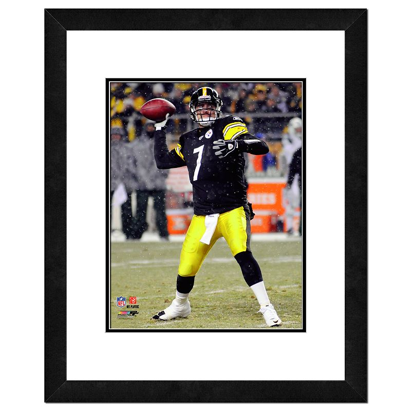 Pittsburgh Steelers Ben Roethlisberger Framed Wall Art
