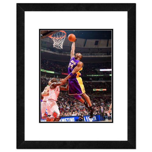Los Angeles Lakers Kobe Bryant Framed Wall Art