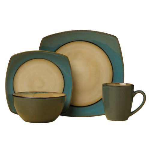 SONOMA life + style® Mesa Aqua 16-pc. Dinnerware Set