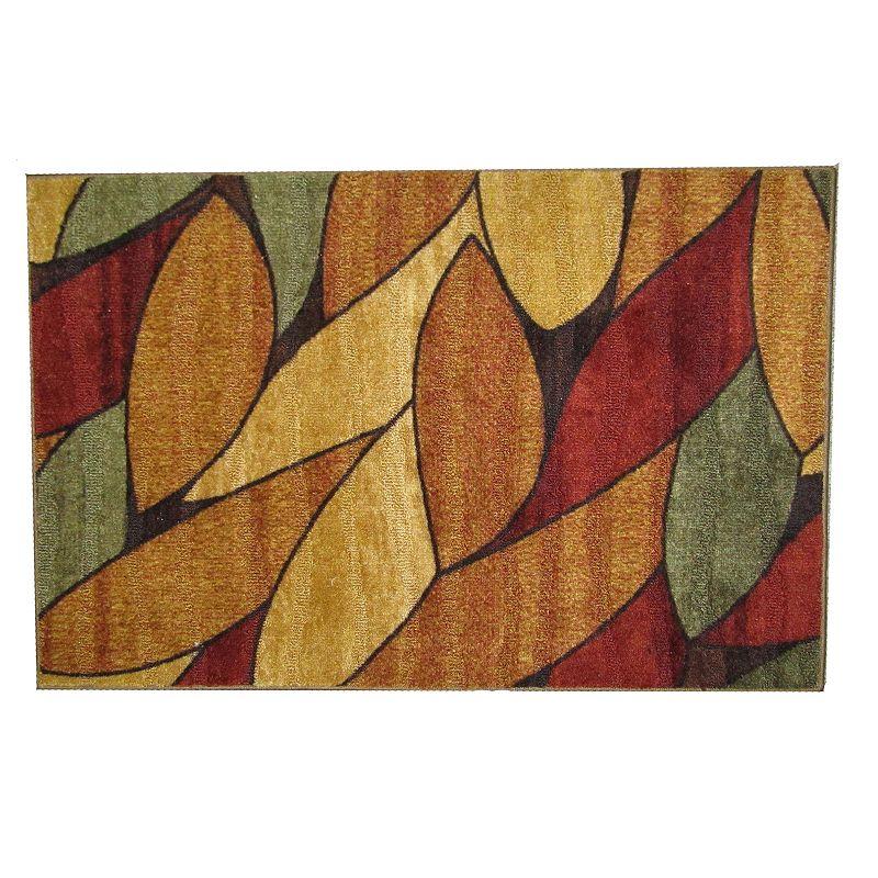 Jessica Leaf Rug - 20'' x 34''