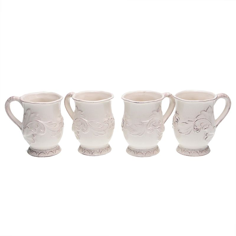 Certified International Firenze Ivory 4-pc. Mug Set